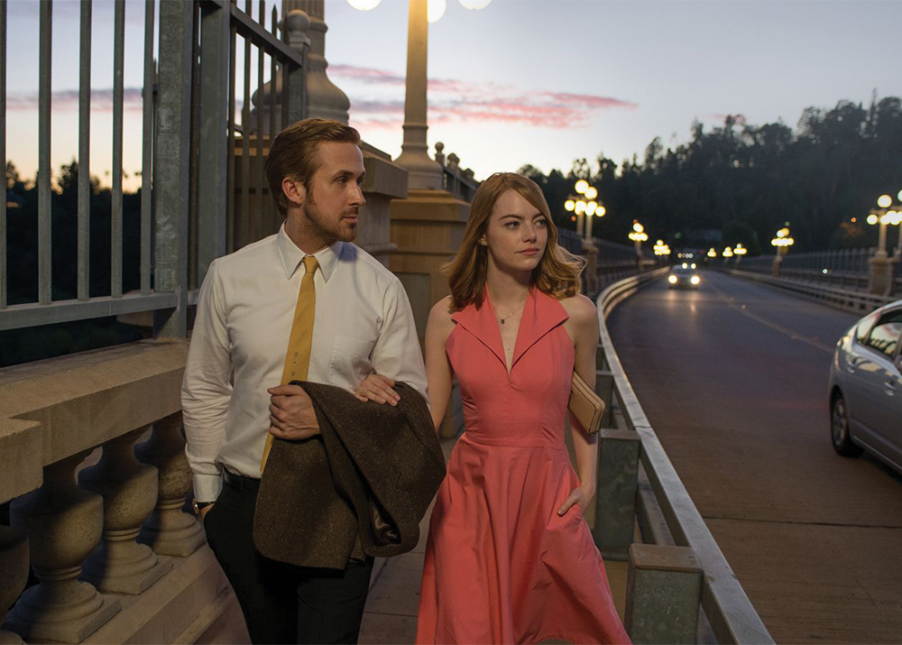 "Starring Ryan Gosling and Emma Stone as a pair of ambitious lovers, ""La La Land"" has taken the awards season by storm, with a record-setting seven wins at the Golden Globes and an equally impressive 14 Academy Award nominations."
