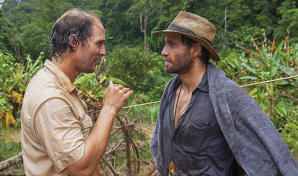 "BOIES/SCHILLER FILMS Starring an immensely entertaining Matthew McConaughey, ""Gold"" tells the story of Kenny Wells, a businessman down on his luck who joins geologist Michael Acosta, played by Édgar Ramírez, on a quest to find gold deep in the Indonesian jungles."