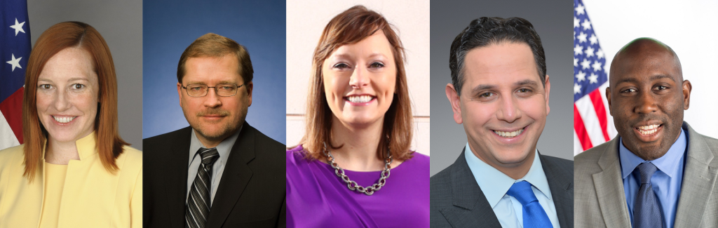 GU Politics' spring fellows include journalist Anna Palmer, former White House Communications Director Jen Psaki, political strategist Tony Sayegh, Americans for Tax Reform President Grover Norquist and former Hillary Clinton presidential campaign strategist Marlon Marshall.
