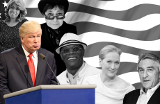 GRAPHIC BY ALYSSA VOLIVAR/THE HOYA A few of the celebrities Donald Trump has feuded with:  Jennifer Holliday, Yoko Ono, Alec Baldwin, Samuel L. Jackson, Meryl Streep, & Robert De Niro