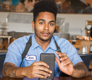 UNSUNG HEROES Javon Lee is a Georgetown worker featured on Unsung Heroes, which is expanding nationwide.