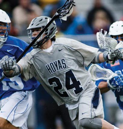 Men's Lacrosse | GU Hunts First Win, Hosts Towson