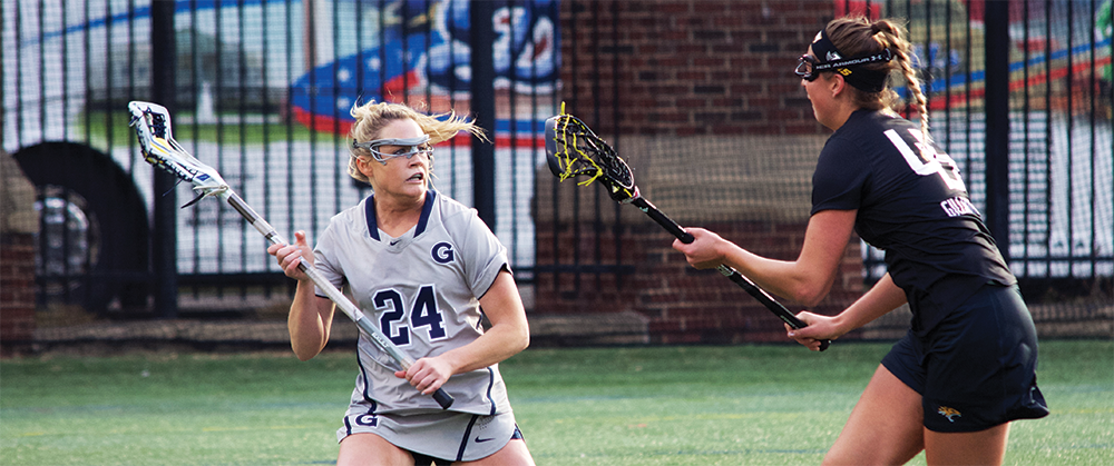 Women's Lacrosse | GU Drops Physical Match to Towson