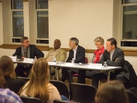 CAROLINA SARDA/THE HOYA Panelists discussed the need to reduce the power of prosecutors and increase the role of social platforms to reduce recidivism in prison reform in an event on Wednesday.
