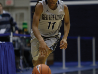 Sophomore guard tied a team-high 17 points in Friday's loss to Fordham. White finished the season as the Hoyas' leading scorer, averaging 15.2 points per game. (DERRICK ARTHUR/THE HOYA)