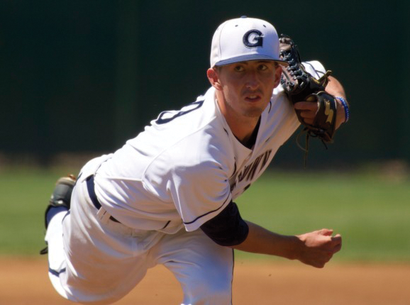 Junior pitcher Kevin Superko gave up four hits in seven innings on Sunday on his way to his fourth win of the season. Superko ranks third on the team with 28 strikeouts this season. (COURTESY GUHOYAS)