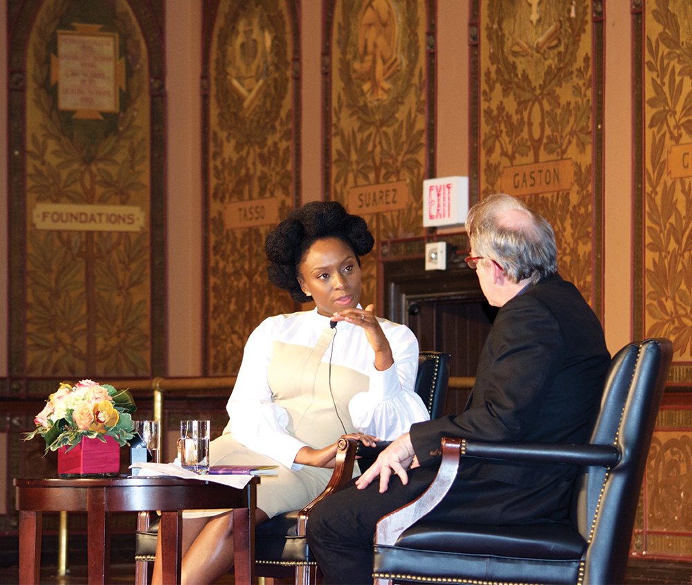 feminist values compatible religion author adichie argues spencer cook for the hoya writer and activist chimamanda ngozi adichie argued that religion and feminism