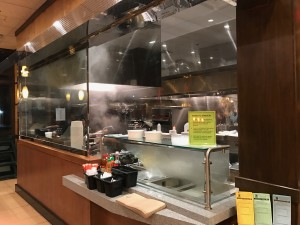 WILLIAM ZHU/THE HOYA After renovating its former hibachi grills, Epicurean and Company has opened a noodle and rice bowl station open from 11 a.m. to 8 p.m., which will allow customers to customize their orders.