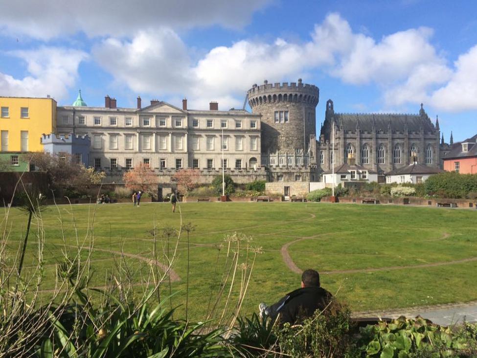 DUBLIN CASTLE | COURTESY KATHERINE PIETRO