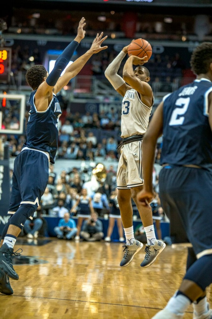 Graduate student guard Rodney Pryor led Georgetown in scoring, averaging 18 points per game in addition to 5.6 rebounds in his only season on the Hilltop. (FILE PHOTO: DAN KREYTAK/THE HOYA)