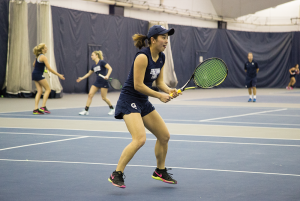 Tennis | Women Seek 4th Straight Win