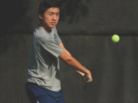COURTESY GUHOYAS Junior Michael Chen led the Hoyas last season with 16 singles wins on the year.