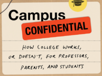 "GEORGETOWN UNIVERSITY Director of the Center for Jewish Civilization Jacques Berlinerblau's most recent book, ""Campus Confidential,"" advocates a renewed focus on teaching, not research, among professors."