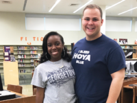 COURTESY CHRIS FISK Elizabeth Erra (COL '17) and Chris Fisk (COL '17) are two of 26 alumni working for Teach For America this year. Georgetown contributed the second highest number of students to TFA.