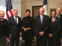 TEAM MURIEL DC  Mayor Muriel Bowser led a delegation of city officials to Paris over the weekend to lobby for D.C.'s bid to host the 2024 Gay Games.