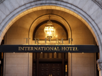 ANNE STONECIPHER FOR THE HOYA House Democrats are suing the General Services Administration over the federal agency's refusal to provide documents related to the Trump International Hotel in Washington, D.C.