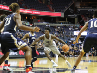 SUBUL MALIK FOR THE HOYA  Senior guard Jonathan Mulmore scored 15 points to go along with eight assists in Georgetown's win over Richmond.