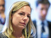 WIKIMEDIA COMMONS The U.S. Senate voted to confirm Kirstjen Nielsen (SFS ), to lead the Department of Homeland Security.