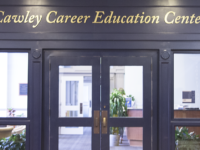 ALYSSA ALFONSO FOR THE HOYA Recently, Cawley has taken steps to improve services, particularly for international students, who expressed criticism of the Sept. 15 career fair's perceived lack of international employers.