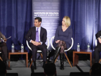 GEORGETOWN INSTITUTE OF POLITICS AND PUBLIC SERVICE Left to right: Georgetown University Law Professor Sheila Foster; Mayor Francis Suarez (R) of Miami, FL; Mayor Lydia Mihalik (R) of Findlay, Ohio;  Mayor Pete Buttigieg (D) of South Bend, Indiana