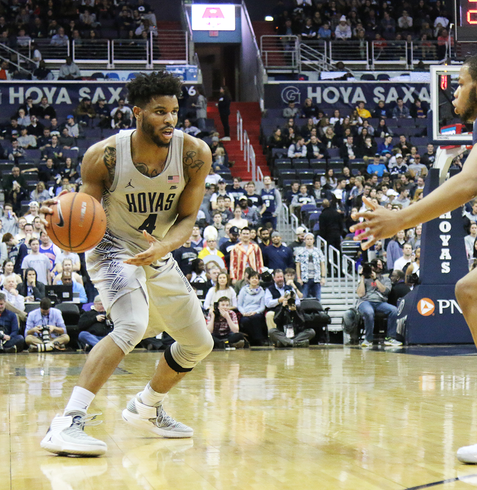 MEN'S BASKETBALL | Hoyas Fall to Bluejays Despite Late ...