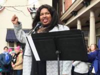 SHAVONNIA CORBIN-JOHNSON/FACEBOOK Recent graduate Slavonia Corbin-Johnson (SFS '14) is running as a Democrat for Congress in the fourth district of Pennsylvania.
