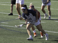 FILE PHOTO: WILL CROMARTY/THE HOYA Senior midfielder Rachel Rausa played in all 18 games for the Hoyas last season and finished ninth on the team with ten goals.