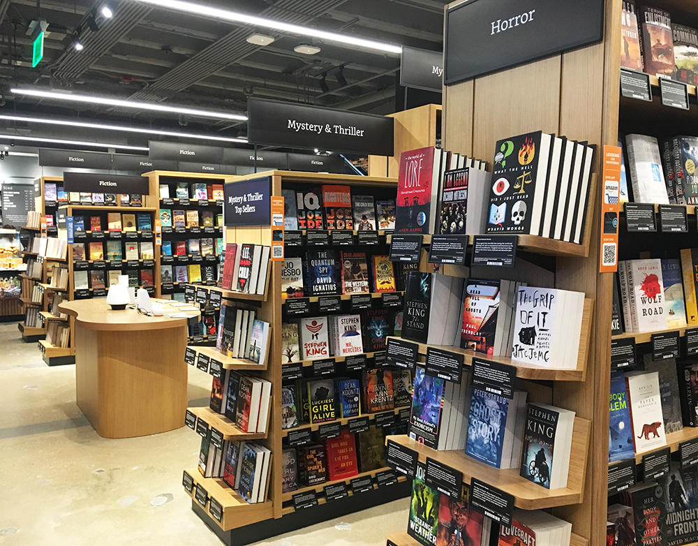 Amazon Books Storefront Opens on M Street