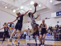 AMANDA VAN ORDER/THE HOYA Junior guard Dionna White scored 33 points and grabbed 11 rebounds in Georgetown's 69-66 loss to Duquesne on Monday. White went 11-13 at the free throw line.