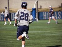 AMANDA VAN ORDEN/THE HOYA Senior midfielder Greg Galligan has scored 2 goals on four shots this season while playing in all seven games so far. He contributed one goal in Georgetown's loss to Drexel.