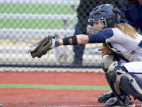 GUHOYAS Sophomore catcher Sera Stevens has started 20 of the team's 22 games this season, batting .240 with three runs batted in.
