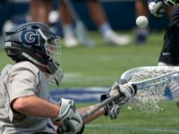 GUHOYAS Senior goalie Nick Marrocco is the NCAA leader in career saves among active players.