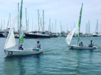 GUHOYAS The Georgetown sailing team cruised to a dominant 20-0 performance at the Hanbury Trophy Team Race in Virginia.