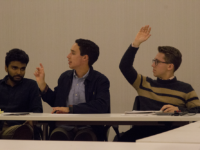 FILE PHOTO: STEPHANIE YUAN/THE HOYA Commissioners for the Student Activities Commission have expressed confusion over ambiguity and lax enforcement of bylaws relating to conflicts of interest — especially as they pertain to the International Relations Club.