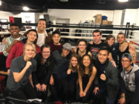 GEORGETOWN UNIVERSITY CLUB BOXING TEAM Georgetown Club Boxing won three titles at the United States Intercollegiate Boxing Association Championships from March 16 to 18. Senior Michael Hou and juniors Hana Burkly and Aaron Vannier all won belts in their respective weight classes.