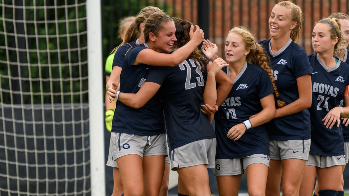 Women's Soccer | Hoyas Sweep Ivy Opponents