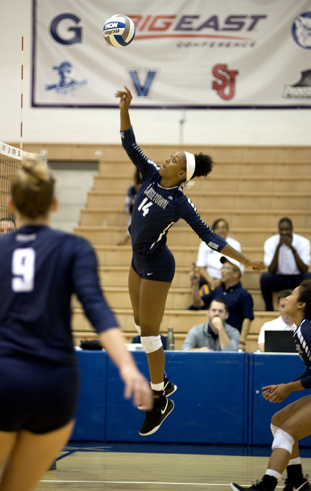 Volleyball | Hoyas Sweep Weekend Matches