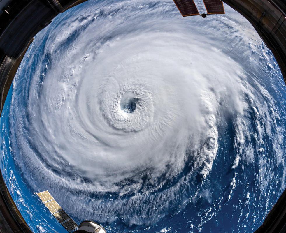 Hurricane Florence Avoids DC