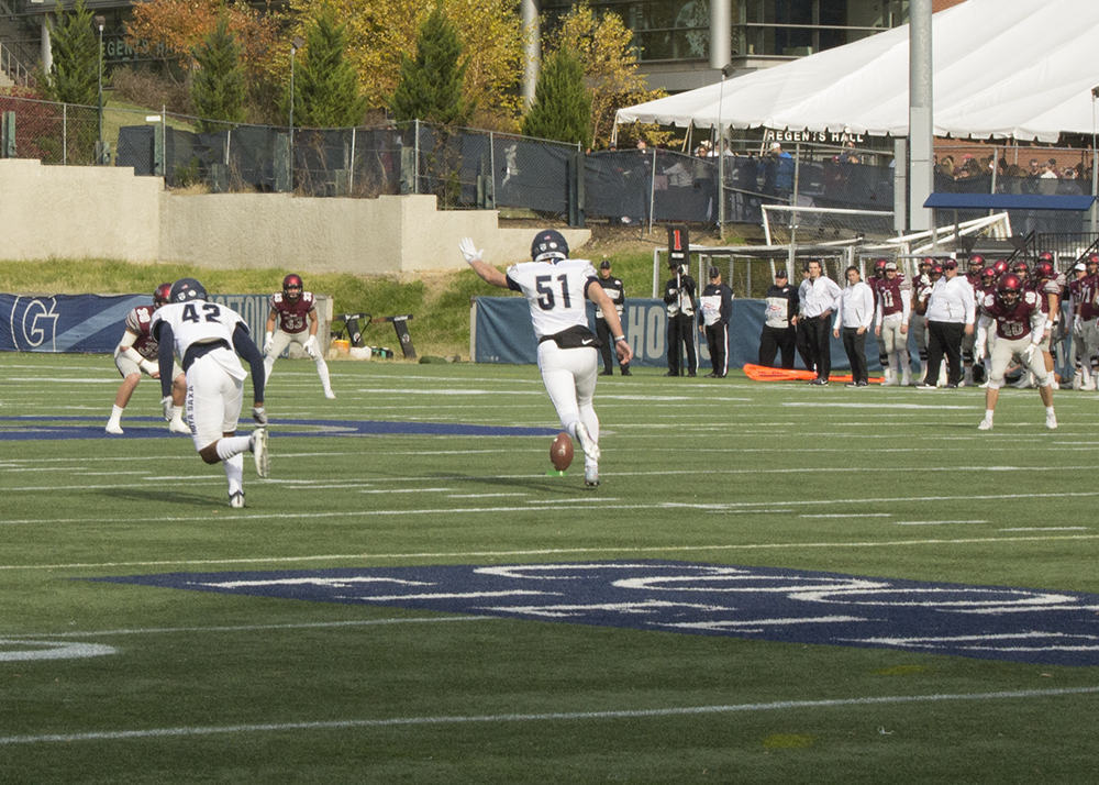 Football | Hoyas Cannot Complete Comeback on Homecoming