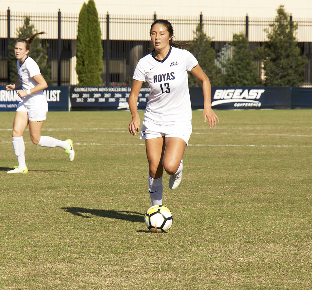 Women's Soccer | Georgetown Wins 4th Straight
