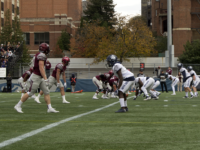 Ella Wan | The Hoya The Georgetown football team has gone downhill after an opening day victory, defeated Saturday by the Brown Bears to mark their fourth consecutive loss.