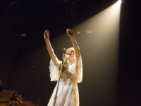 Florence + the Machine Embrace Fans During Emotional Performance