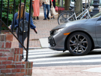 KIRK ZIESER FOR THE HOYA Two Georgetown University medical students were victims of a hit-and-run incident in Tenleytown on Sept. 5. D.C. police are still investigating.