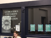 ANNE STONECIPHER/THE HOYA The Georgetown University Student Association voted unanimously Monday night in support of an Ethics and Oversight committee to hold GUSA senate and executives accountable.