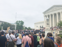 COLTON SCRUDDER FOR THE HOYA In a 50-48 vote Saturday, Supreme Court Justice Brett Kavanaugh was confirmed, prompting protest from the Georgetown community.