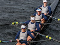 Junior Grace Donabedian and the Hoyas raced to a 14th place finish in the women's fours. GU WRA