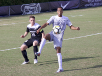 Sophomore forward Derek Dodson leads the team with 5 goals and 10 assists oh the season. Aisha Malhas/The Hoya