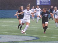 Senior defender Jenna Staudt and the Hoyas have held opponents to four total goals in their 12 games. Hannah Levine/The Hoya