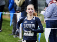 GUHOYAS | Junior Paige Hofstad recorded a time of 21:37 in the women's NCAA Mid-Atlantic Regional Championships, finishing 16th overall.