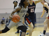 Junior guard Morgan Smith had 11 points and six rebounds in 22 minutes of play against Richmond. Amanda Van Orden/The Hoya